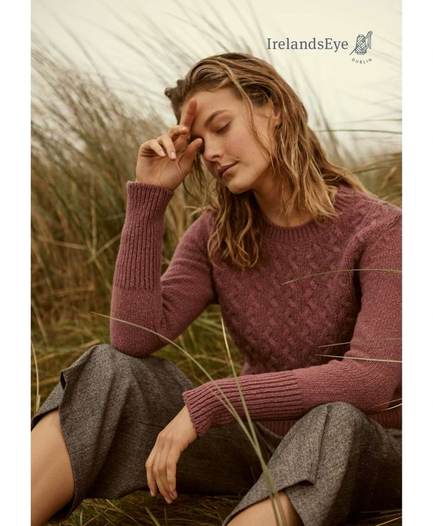 Wool Cashmere Kilcrea Round Neck Sweater
