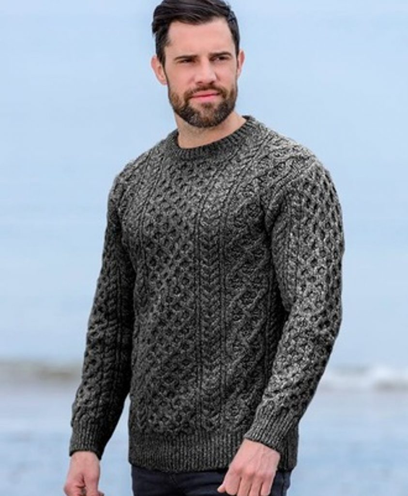 Peat Aran Sweater